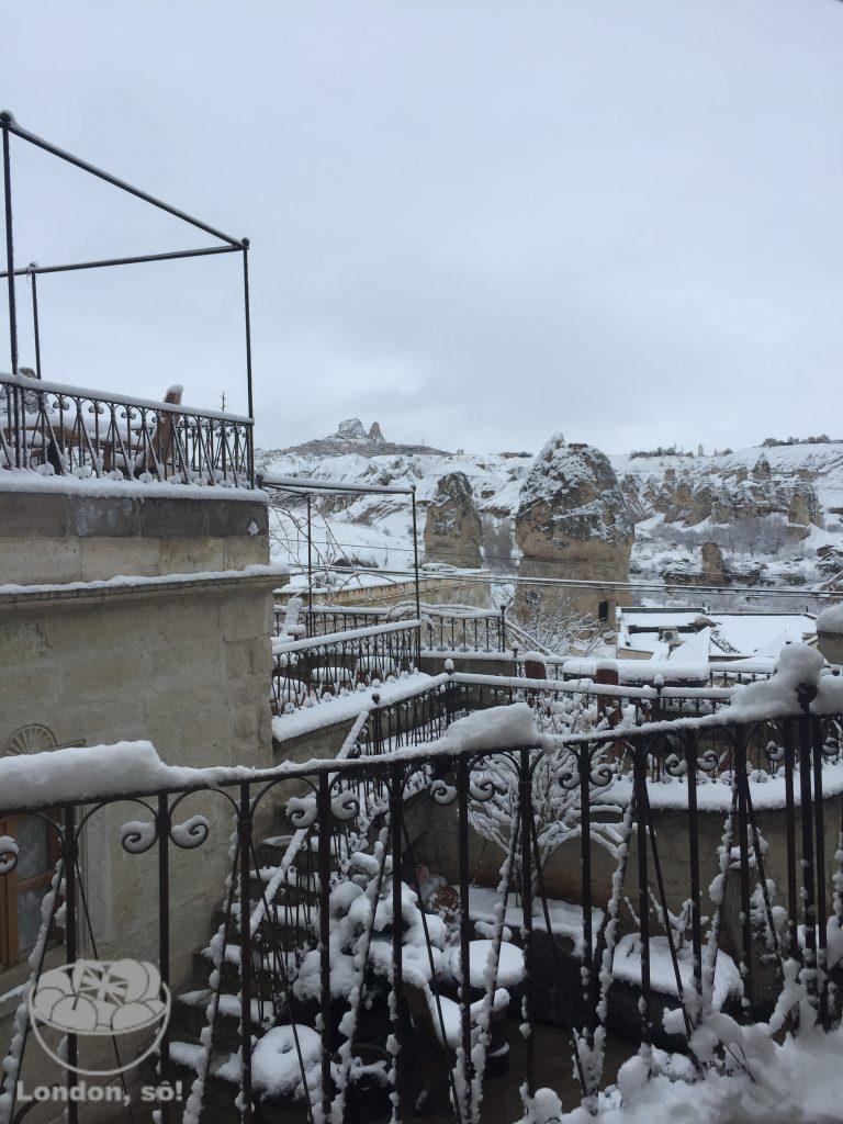 capadócia no inverno