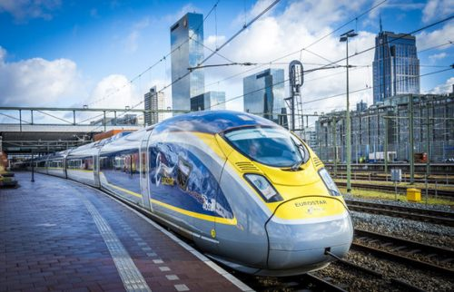 Trem de Londres a Amsterdam começa a funcionar em Abril
