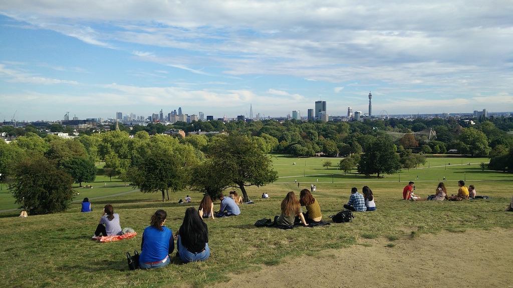 lugares para ver Londres do alto