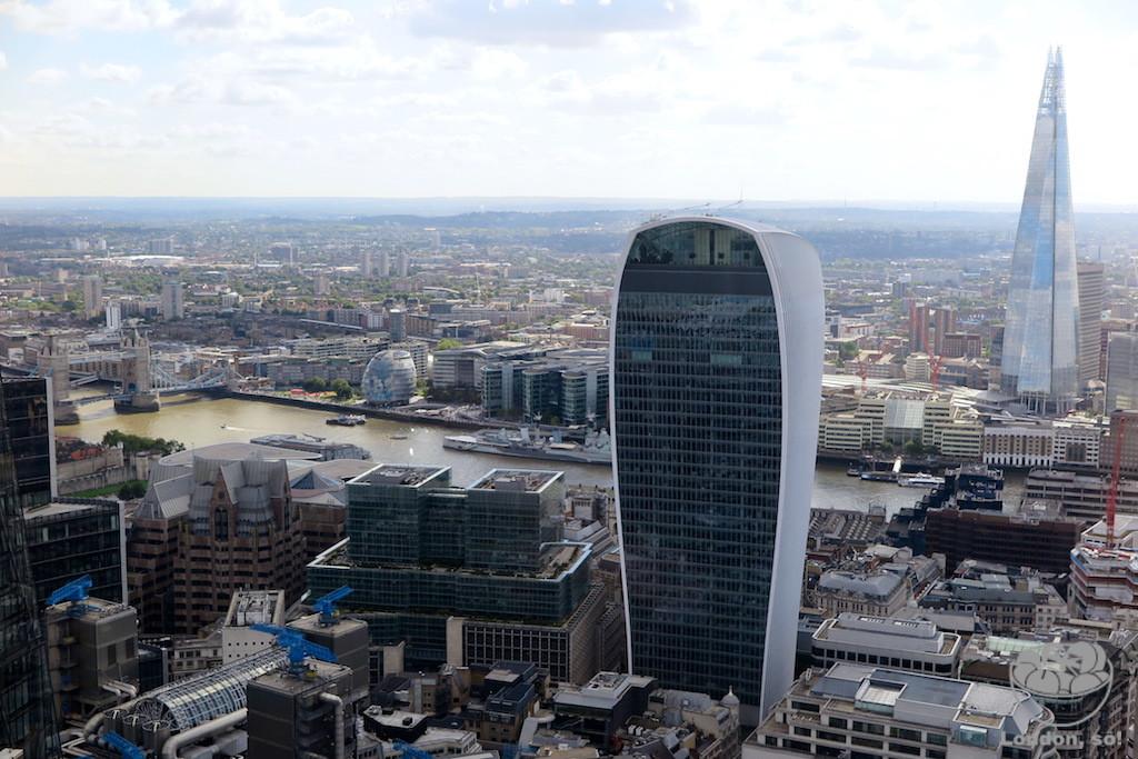 9 lugares para ver Londres do alto DE GRAÇA  (e 6 pagando)