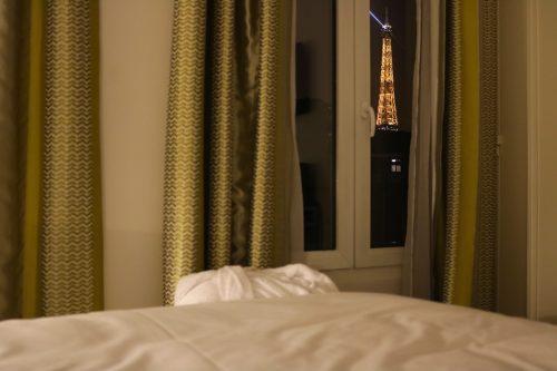 Hotel com vista para a Torre Eiffel: Hôtel Gustave em Paris