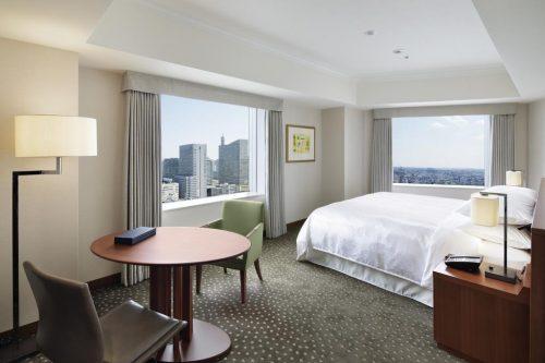 Hotel Yokohama Bay Sheraton: luxo pertinho de Tokyo