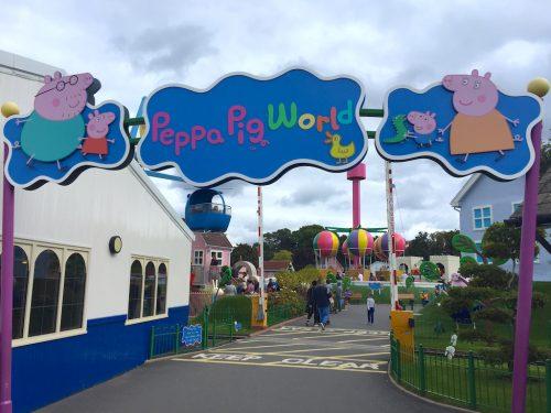 Paultons Park: a casa da Peppa Pig no Reino Unido